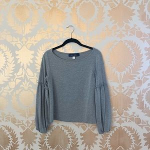 Francesca's billow-sleeve sweater